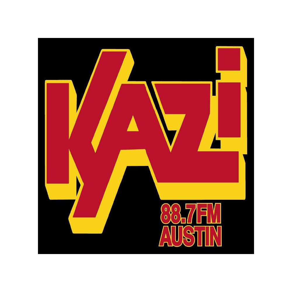 Kazi was 88.7 FM logo