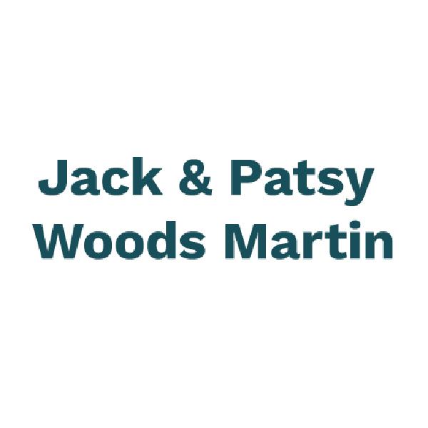Jack and Patsy Woods Martin logo