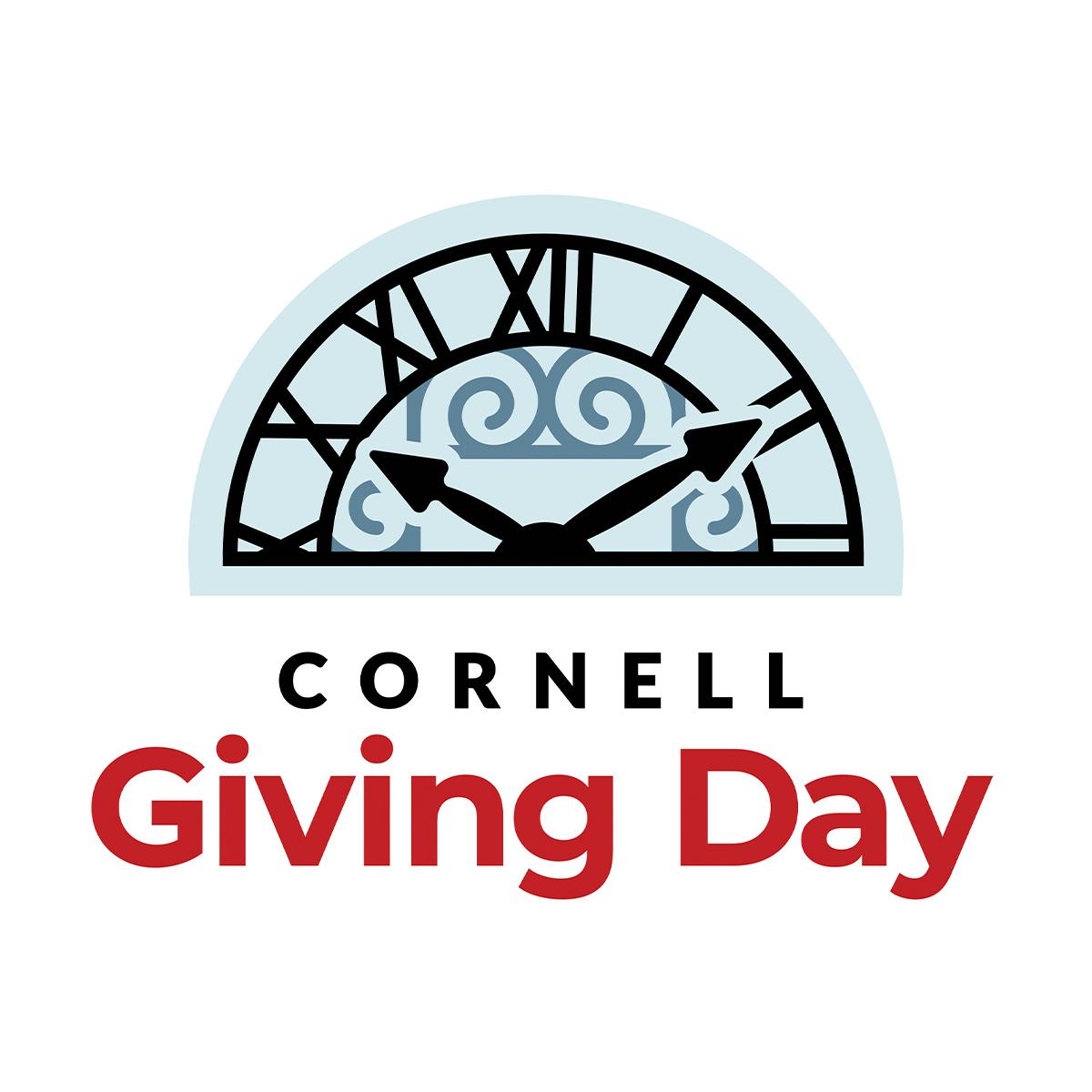 Logo Profile 1 -- Cornell Giving Day clock logo