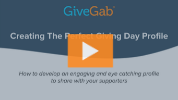 Creating The Perfect Giving Day Profile