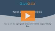 Goal Setting Strategies